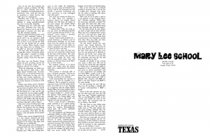 mary lee school newspaper